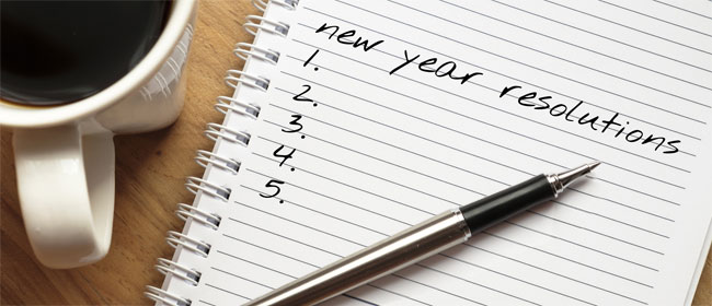 New Year's Resolutions that Make a Difference!