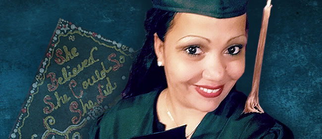 Single Mom of 5 Earns High School Diploma for Adults
